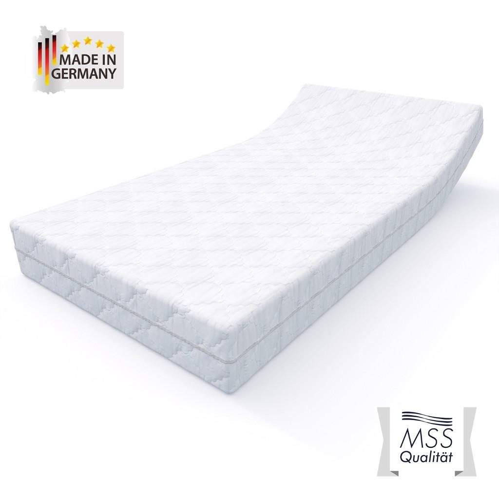 MSS®VitalFoam®Wellness Matratze 7 Zonen Höhe 12 cm